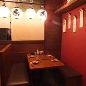 綺麗な落ち着いた雰囲気の店内で本場九州博多料理を堪能♪半個室風のベンチシートで時間を気にせずゆったりとお過ごしください◇九州居酒屋 永山本店 渋谷店◇