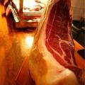 料理メニュー写真スペイン直送生ハム最高峰「ハモン・イベリコ」