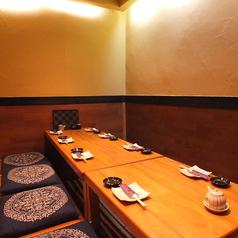 さかな料理と地鶏 侍 北野坂店の雰囲気1