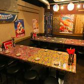 【2階テーブル席/2名様~】少人数~大人数まで様々なシーンに対応できる空間です!