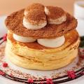 料理メニュー写真ティラミスパンケーキ