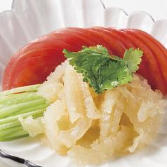 クラゲの冷菜