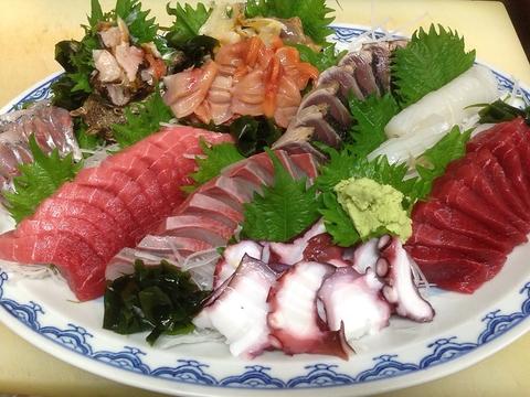 こだわりの日本酒と魚料理をご提供いたします