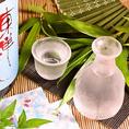 季節の旬魚と相性抜群の日本酒や焼酎も充実