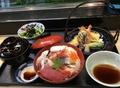 料理メニュー写真海鮮重 小天ぷらセット