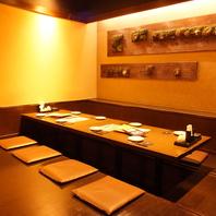 【大小個室あり】様々なタイプのお席をご用意