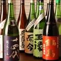 料理メニュー写真各種日本酒、焼酎を取り揃えております。