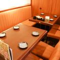 4名テーブルが2つある完全個室です★