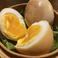 煮卵の燻製