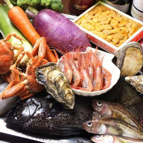 フランス料理をベースに、築地より直送の新鮮な魚介類や鎌倉野菜をふんだんに使ったヘルシーなこだわりイタリアン&フレンチレストラン。季節の食材をふんだんに使ったお料理でお待ちしております♪こだわりの食材を使った自慢の料理を存分にご堪能下さいませ!