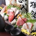 料理メニュー写真鮮魚の盛り合わせ一人前~
