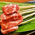 料理メニュー写真【人気串ランキング2位】牛肉。牛ならではの美味しさとサクサクの衣が◎