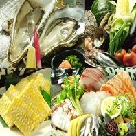広島食材こだわり◎「牡蠣、穴子、小鰯、地蛸など…」