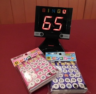 ビンゴゲーム・カード貸出中♪!