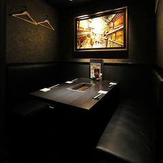 【1階:テーブル個室】大人たちの普段使いにぴったりな少人数個室(2~4名様まで※お席は2時間制となります。)