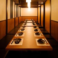 ≪風情溢れる和モダン個室完備≫個室で優雅なひと時を♪