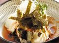 料理メニュー写真いりこポッカ(韓国たづくり)/自家製肉みそのモロキュウ/特製醤油の冷奴