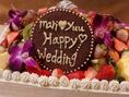 WDケーキやサプライズケーキもお任せ下さい!ご予算に応じてご用意いたします!
