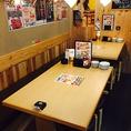 テーブル席もございます!※写真は系列店です。
