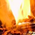 最高級備長炭で焼く焼き鳥は絶品!その日一番の新鮮地鶏を使用して調理する、リピーター続出中の当店の看板メニューです!