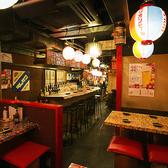 【2階テーブル席/2名様~】デートや仲間内でのお食事に最適です◎
