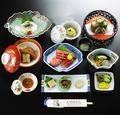 料理メニュー写真まぐろづくし竹コース9品