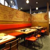 ゆったり座れるソファー席。開放的な空間でご飲食もフォークやナイフを使わず箸で食べるほっと安心感あるバル料理をお楽しみいただけます…♪個室の和モダンとは違い、少し凝り固まった洋風な感じではなくカジュアルな雰囲気でお食事はいかがでしょう?一つのお店で二つの空間を大人ならではの楽しみ方が出来ます。