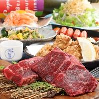 ブラックアンガスステーキ付食べ飲み放題3600円(税込)