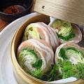 料理メニュー写真季節野菜の豚巻せいろ蒸し