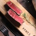 料理メニュー写真道産 牛ヒレ肉のじっくりロースト