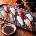 料理メニュー写真特選にぎり寿司