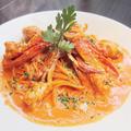 料理メニュー写真渡り蟹のトマトクリーム