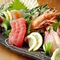 料理メニュー写真【三陸海の幸】お刺身盛り合わせ