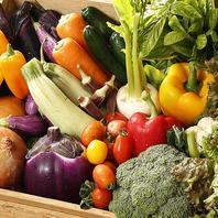 【地元の野菜にこだわりあり】
