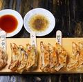 料理メニュー写真【手作り】岡山野菜餃子(7ヶ)