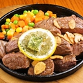 料理メニュー写真沖縄スタイルステーキ(200g/300g/400g)