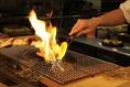 オープンキッチンで炭火焼きの良い香りが店内に広がります。自慢の炭火焼きステーキは美味しすぎてたまりません。ゴールデンウィークはお肉を食べにニクバルダカラへお出かけしませんか?(*^^*)