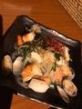 料理メニュー写真海鮮チャプチェ
