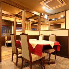 イタリアンレストランCasanovaの4名様席♪まったり過ごせるCasanovaのスタンダードなお席です。