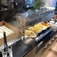 【お料理コーナー(2)】中華、イタリアン、和食等数あるバリエーションに富んだお料理是非ご堪能下さいませ。