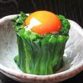 料理メニュー写真栃木のニラ玉