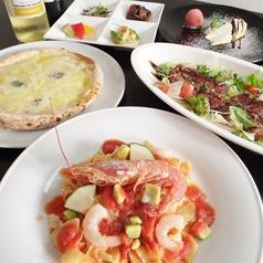 イタリア食堂 ガンベロッソのコース写真