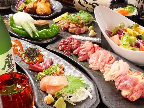 日本各地の厳選地鶏と美味しいお酒に魅了され、リピーターの多いお店です