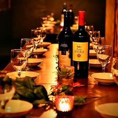 女子会や誕生日会・歓送迎会など各種宴会に最適の個室空間となっております♪