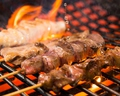 料理メニュー写真地鶏串焼