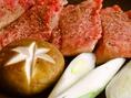 地元奥州の前沢牛を使用したお料理、コースをご用意しております。