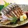 料理メニュー写真【千葉県銚子港水揚げ鯖】〆鯖の炙り刺し