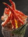 料理メニュー写真本たらば蟹