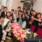 結婚式2次会にオススメ☆無料特典多数!楽しい仲間に囲まれて、笑顔も弾ける思い出に残るひと時を♪※写真はイメージです。