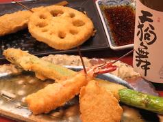 おためし(串揚げ5串+サラダ+お通し)